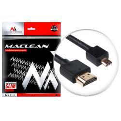 Kabel HDMI - microHDMI v1.4 vergoldet SLIM Kabel 3D Full HD 2m  MCTV-722