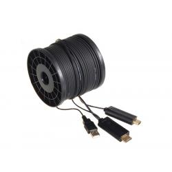 Optiche HDMI Kabel 305m, 16Gbps Maclean MCTV-683