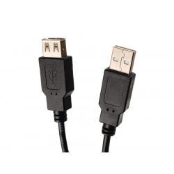 USB-Kabelanschluss 2.0 A/A M-F 3m MCTV-744