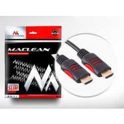 HDMI-HDMI Kabel v1.4, 5.0m Maclean MCTV-814
